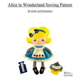 Naaipatroon: Alice in wonderland