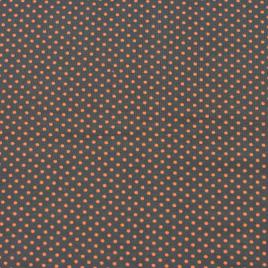 Grijs oranje stip klein