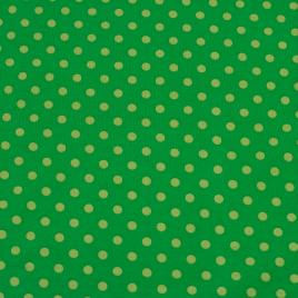 Donker groen stip groot