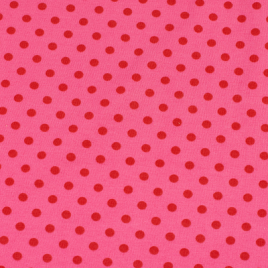roze rood stip groot