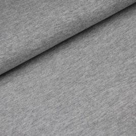 katoen tricot grijs melange