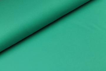 Katoen tricot donker zee groen