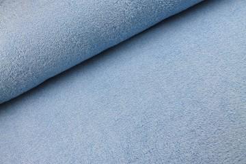 Badstof ijs blauw