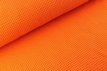 Wafeldoek oranje